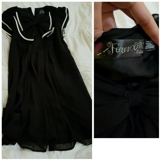 Forever 21 Chic Black Dress