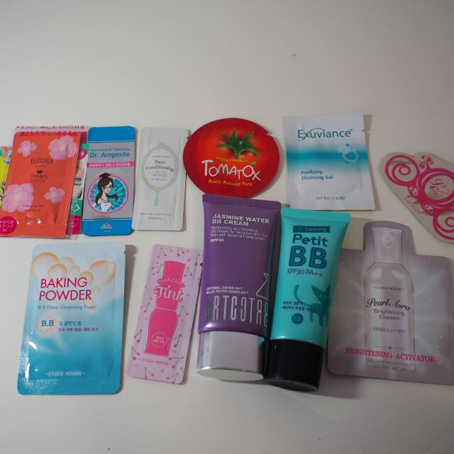 Collection Of Korean And Japanese Cosmetic And Skin Care Products