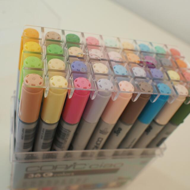 Copic Markers Full Set (36 Colors)