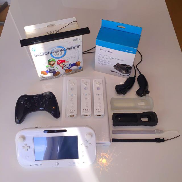 Deluxe Nintendo Wii U (White 32gb)
