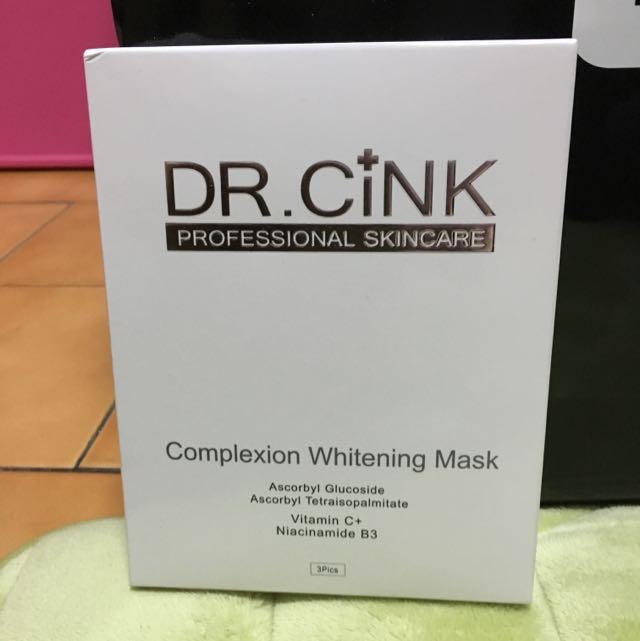 DR.CINK 美白色休還原面膜
