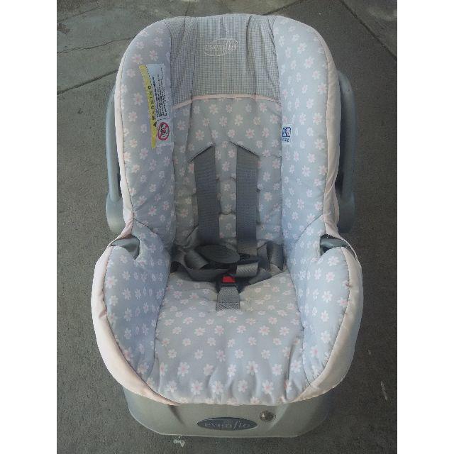 Evenflo Baby Girl Car Seat