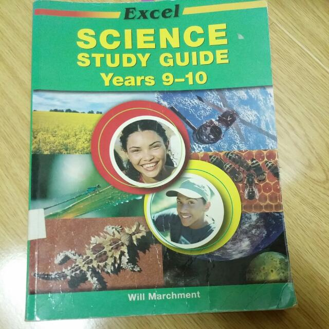 Excel Science Study Guide Year 9-10