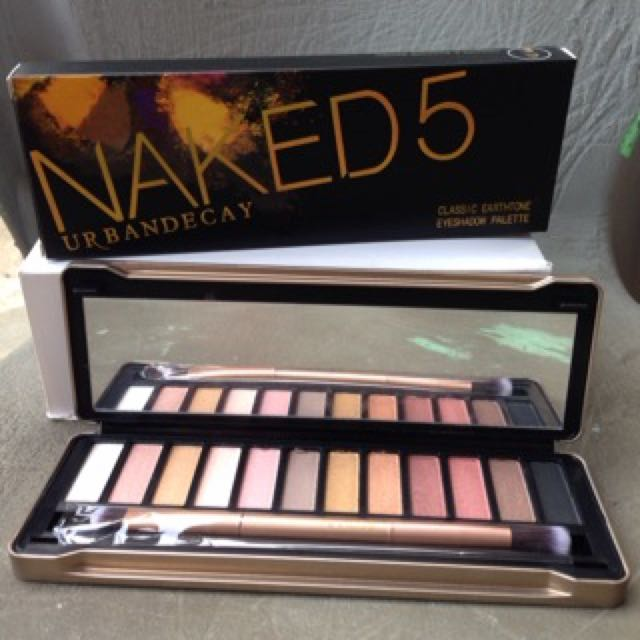 Eyeshadow Pallette Naked 5