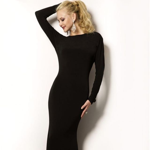 Forever new, Long Black Tight Dress