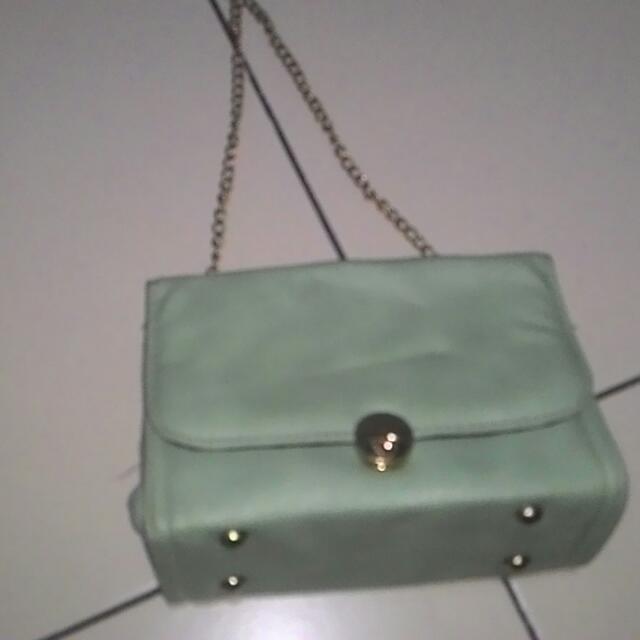 Green Mint Bag