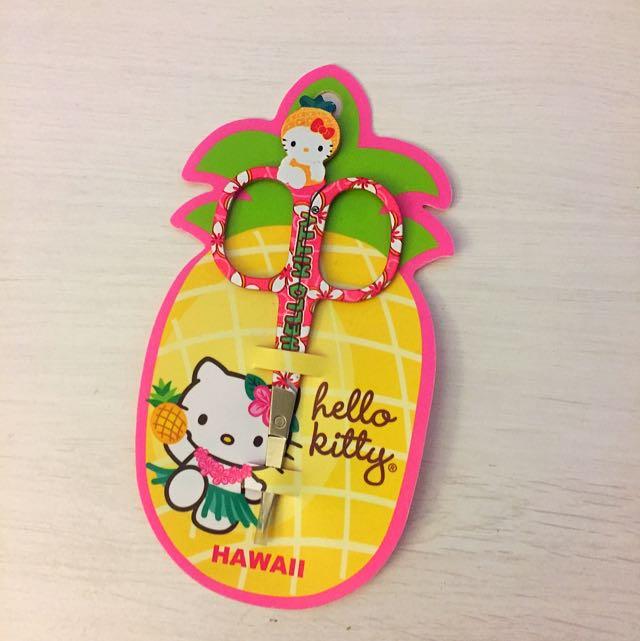 Hello Kitty夏威夷限定小剪刀