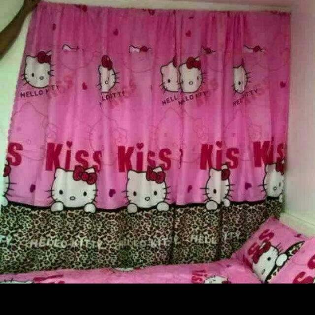 Hello Kitty Curtain One Pair (2pcs)