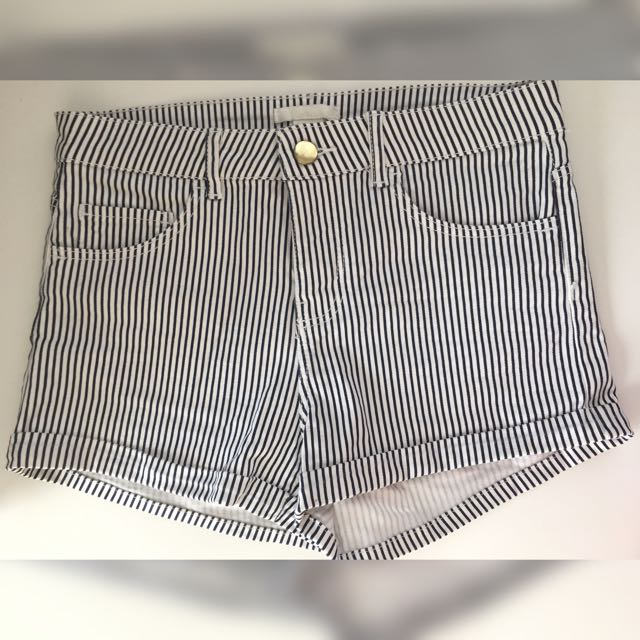 H&M Stripe Short Pants
