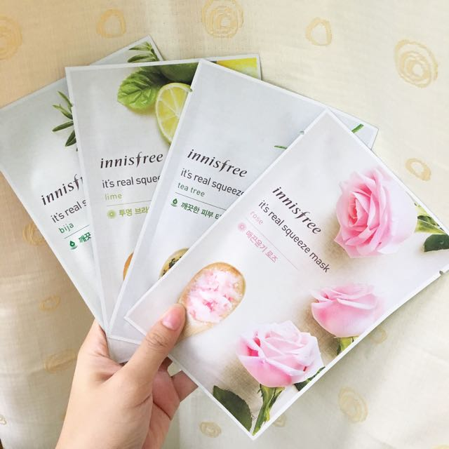 Innisfree Its Real Squeeze Sheet Masks