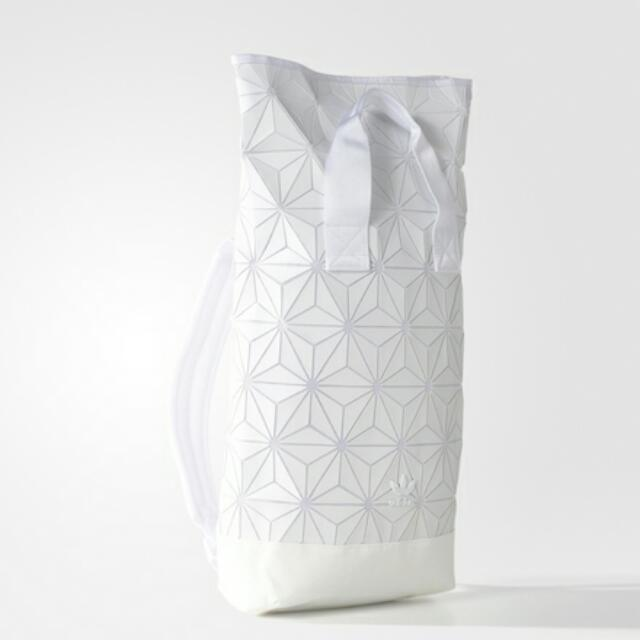 Pre Order)Issey Miyake 3d Mesh Adidas Backpack White Limited