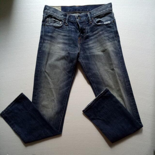Jeans Abercrombie & Fitch Asli Size 30-31