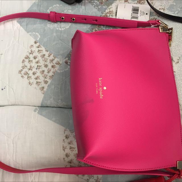 kate spade pink crossbody bag