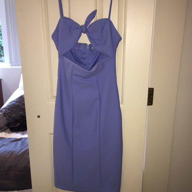 Kookai Blue Bow Dress