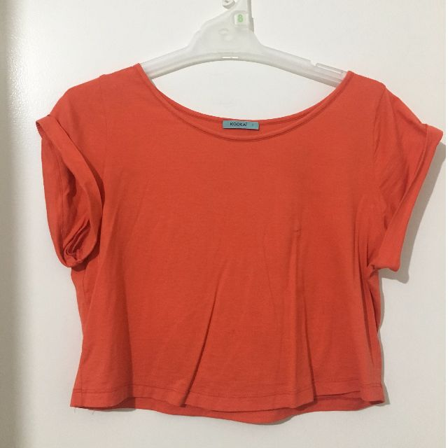 Kookai orange top