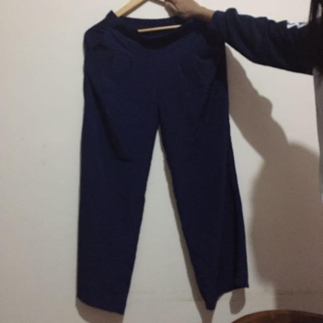 Kulot Pants Navy Blue