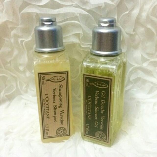 L'OCCITANE MINIATURE (50ml Set Of Shampoo & Shower Gel)