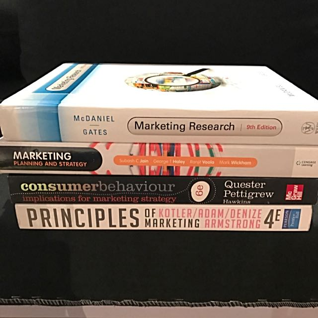 Marketing Textbooks For Sale!