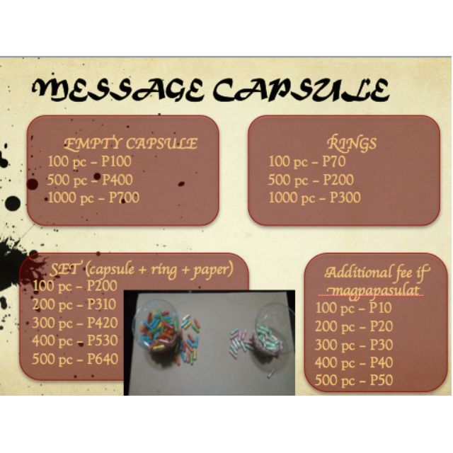 Message Capsule