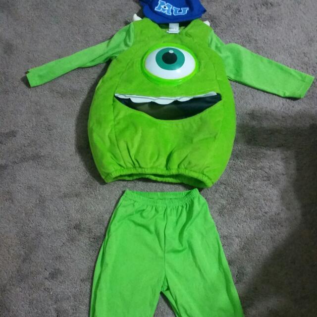 Monster Inc Costume