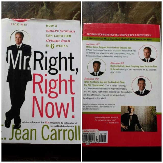 Mr Right, Right Now