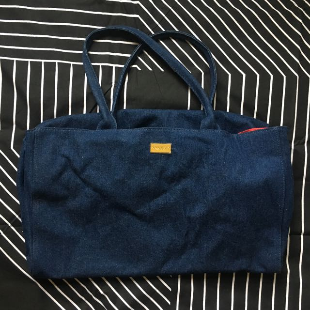 NAPOLEON PERDIS LARGE DENIM BAG
