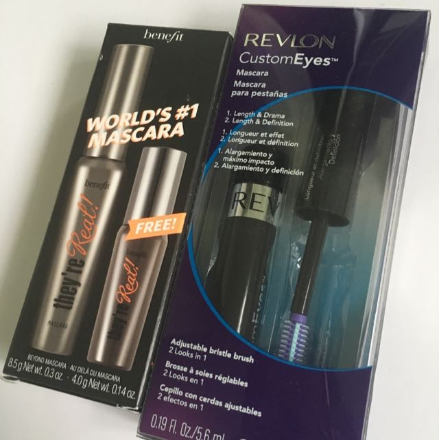 Never Opened Mascara Benefit They're Real And Revlon Freebie