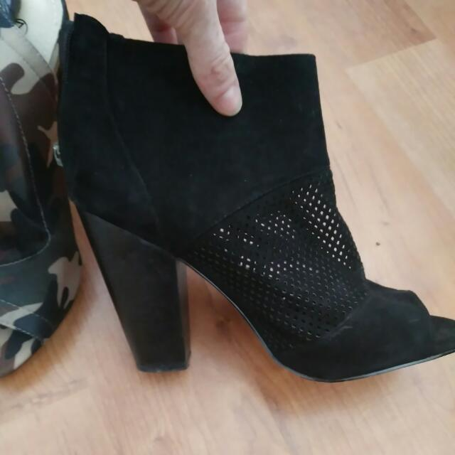 New In Box, Never Worn, Black Nova Ankle Boots