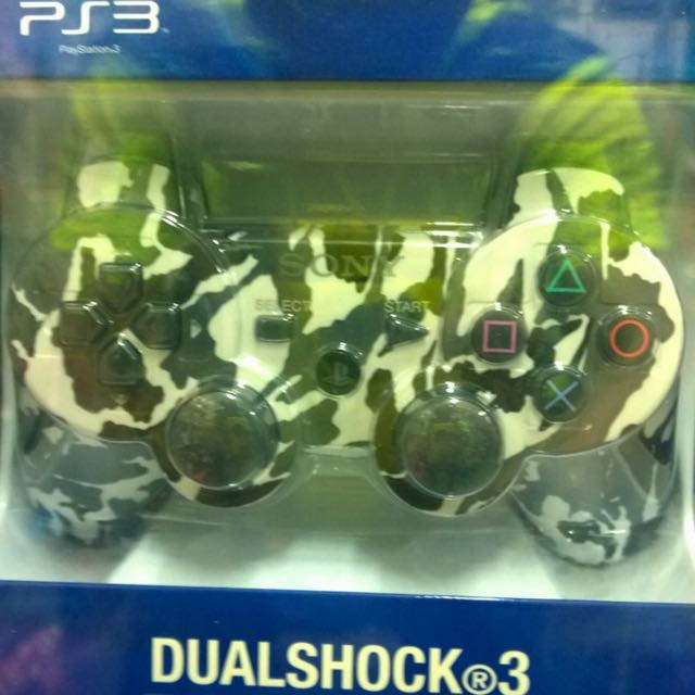 NEW PS3 ANALOG Camouflage 99% COPY ORIGINAL