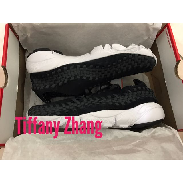 Nike Air Footscape Woven NM 黑灰 編織 875797-001