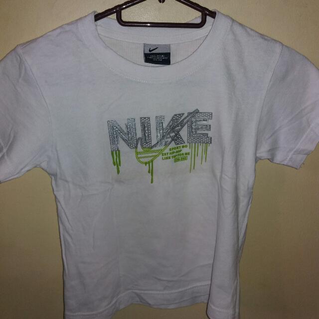 Nike White Tshirt