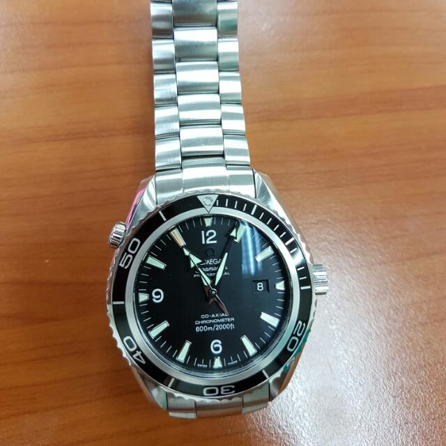 omega planet ocean 45 5mm 2500 luxury watches on carousell