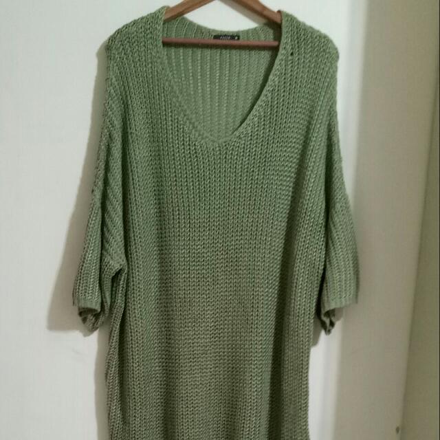 PAZZO長版針織洋裝
