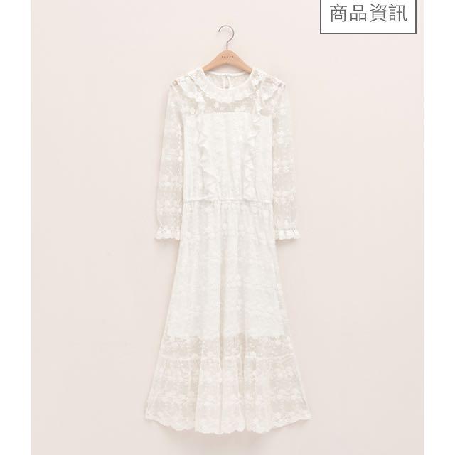(徵)pazzo蕾絲洋裝