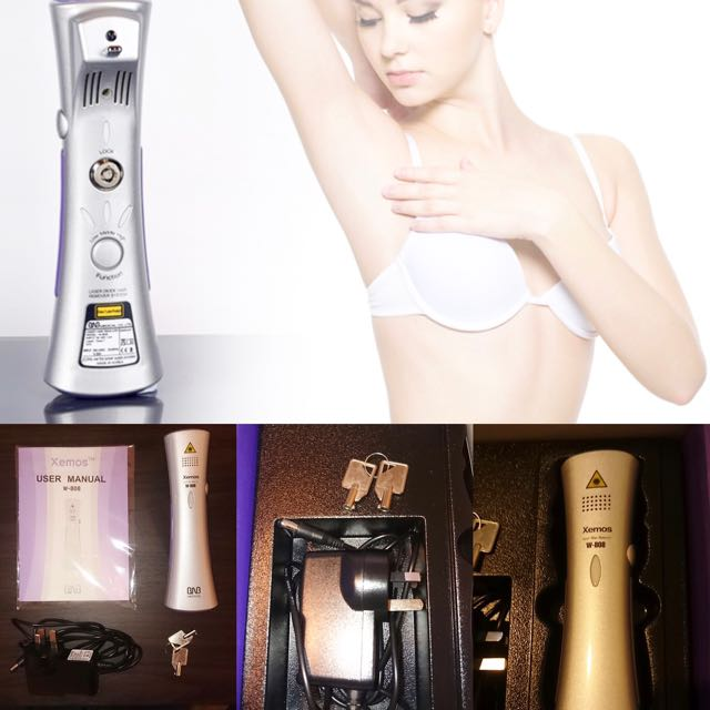Personal Laser Hair Remover System Xemos W 808 Health Beauty On