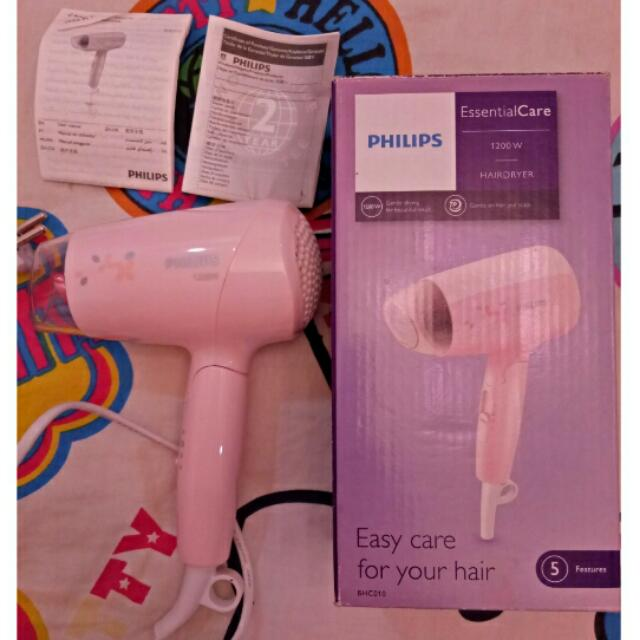 PHILIPS HAIRDRYER PINK