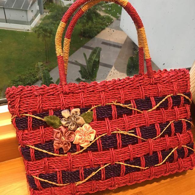 Picnic Bag - Weaved