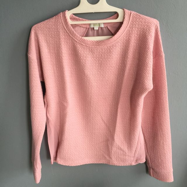 pink sweatshirt from Details