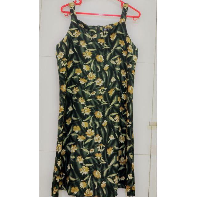 Preloved floral dress 'Ari Thalia'