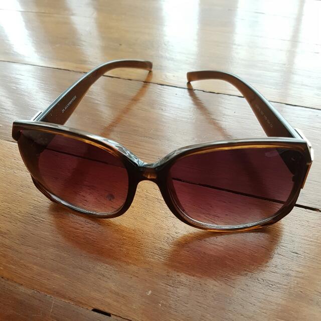 Preloved Zara Woman Sunglasses In Brown