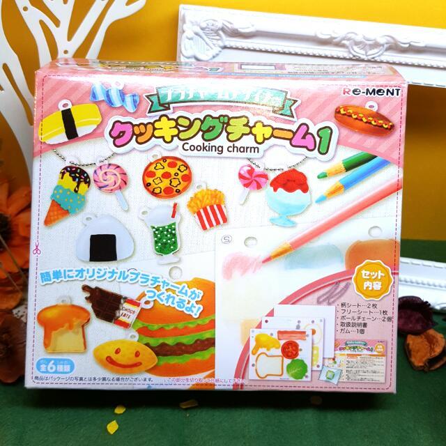 Re-ment 食物甜點壓縮片DIY盒玩