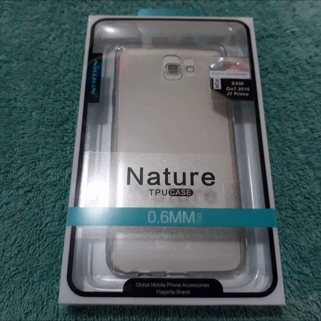 Samsung J7 Prime original Nilkin silicone case