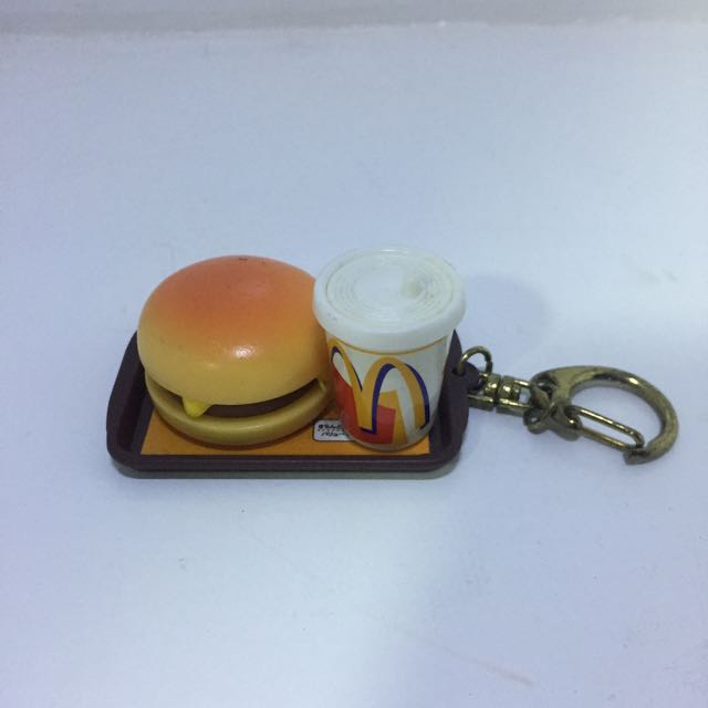 Small Mcdonald's Keychain