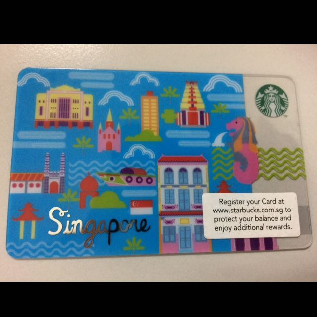 Starbucks Card Singapore