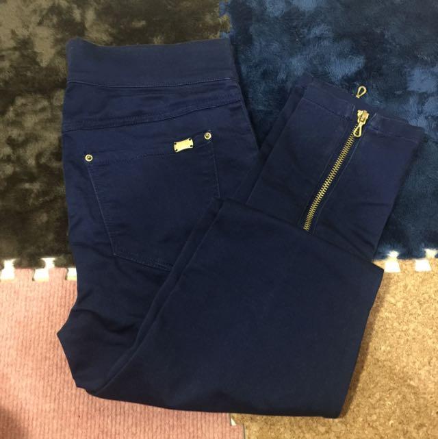 STARDIVARIUS zipper jeans