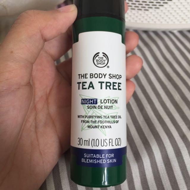 Tea Tree Night Cream
