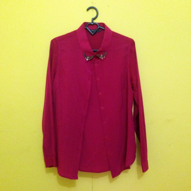 The Executive Blouse In Pink