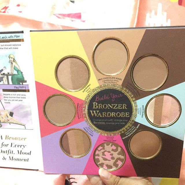 The Little Black Book Of Bronzers By Too Faced