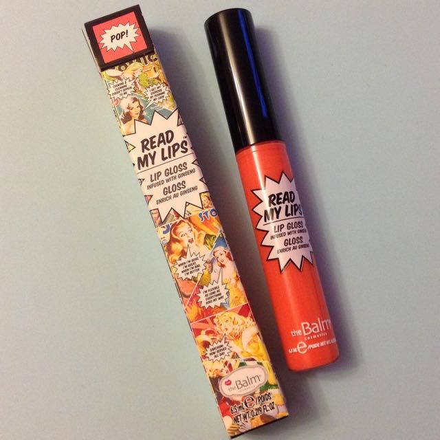 TheBalm The Balm Read My Lips Lipstick in Pop!