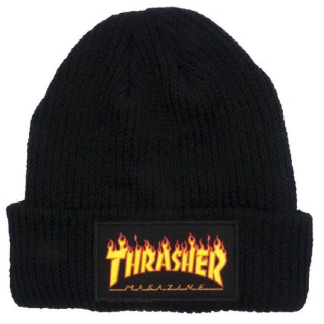 THRASHER FLAME BEANIE